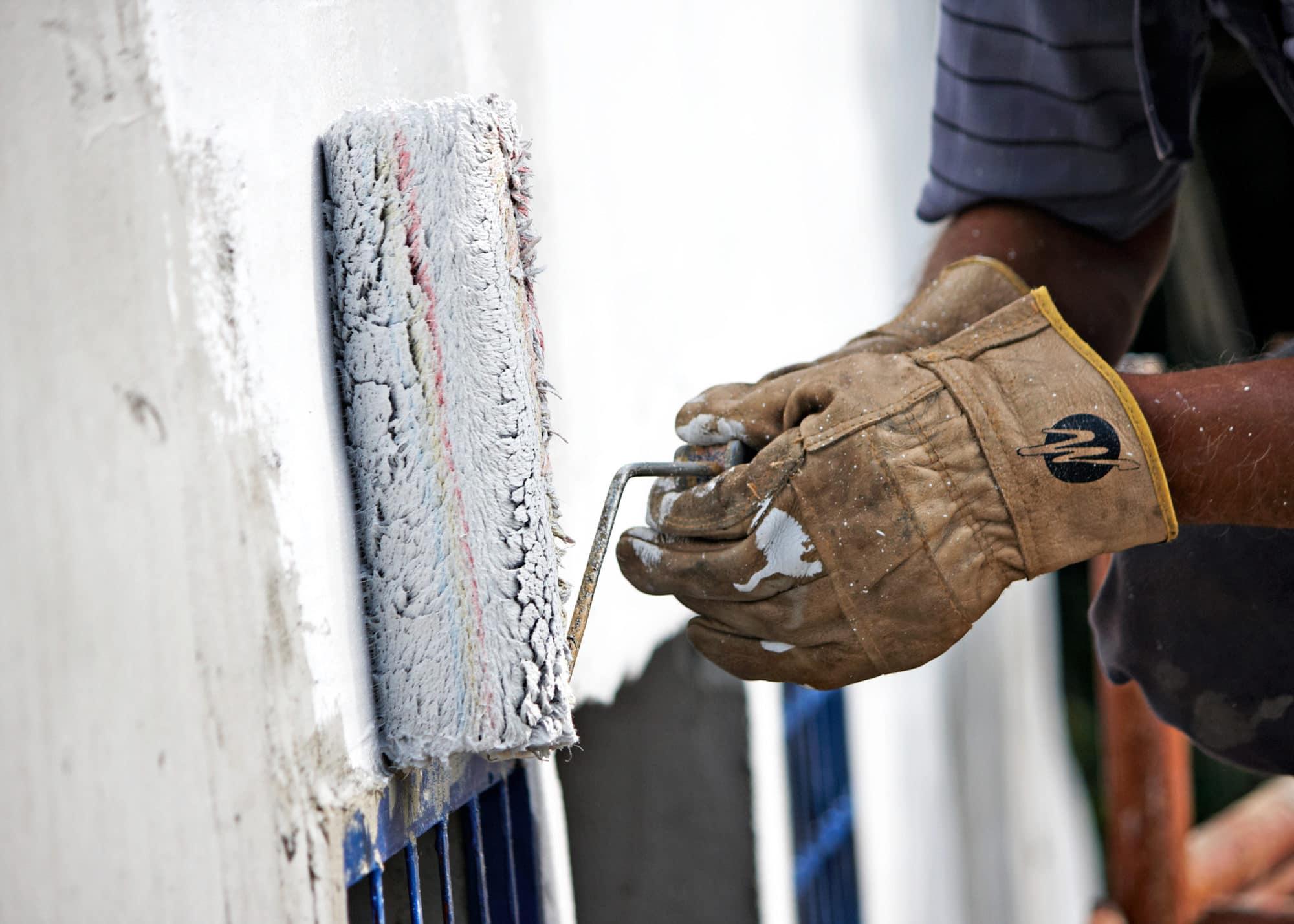 Revêtement de rénovation ou ravalement de façade